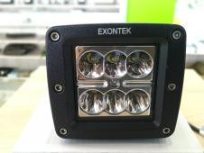 фара світлодіодна LED Work Light 18W square Spot beam, ETK-WL-18W-SQ2 (CREE)