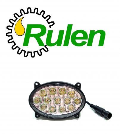 """овальні світлодіодні фари з вилкою 5,5"""" Oval 39W Led work lights with 9006 male Plug (RE271574, RE181282, RE180613, RE271573) (DIAMOND GLASS)"""