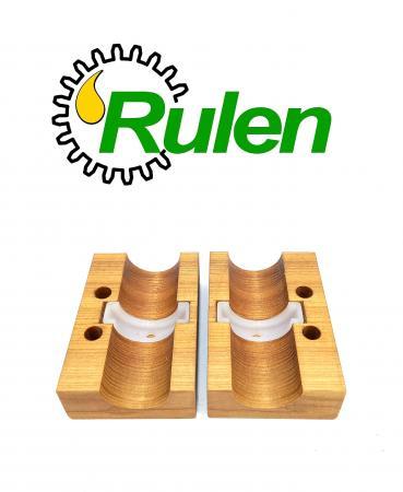 підшипник вала соломотряса дерев'яний (AZ45586) (комплект 2 шт) (HDParts-AG)