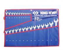 набір ключів комбінованих 22 шт. (6-32)  1222MRN (KING TONY, Тайвань)