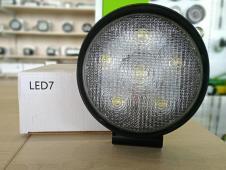 фара світлодіодна LED Work Light 18W Round Flood Beam, модель ETK-WL-18W-RD2 (CREE)