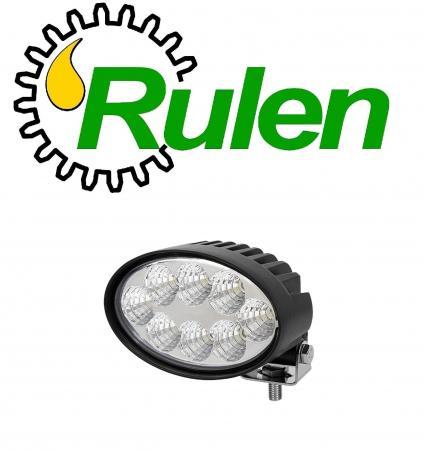 """овальні світлодіодні фари 5,5"""" Oval 40 W Led work lights with Plug (RE246425, RE179973, RE255988) (DIAMOND GLASS)"""