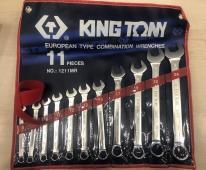 ключі комбіновані (в комплекті по 11 шт.)  1211MR (KING TONY, Тайвань)