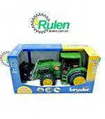 машинка іграшкова - трактор John Deere 6920 з навантажувачем 02052 (Bruder, Германия)